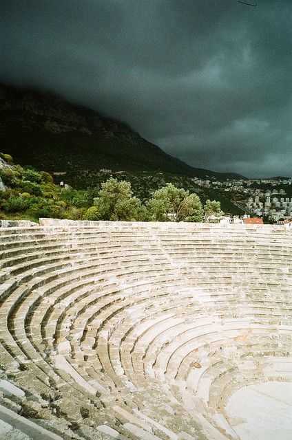 Kas, Turkey. Spent many evenings here in the old amphitheatre