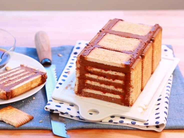 La recette de la terrine Petits Beurre gourmands et ...
