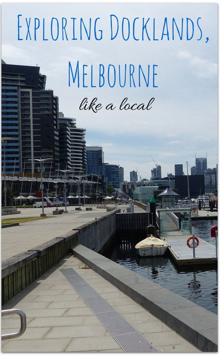 Things to do in the Docklands, Melbourne with kids