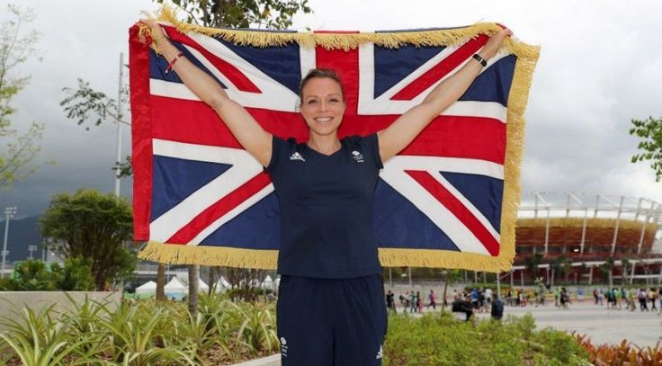 Kate Richardson Walsh- one of the hockey players who won Team GB's 1st ever gold at any Olympics- made history- won a tense final winning on penalties- just phenomenal!