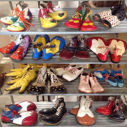 Collection of Clown Shoes