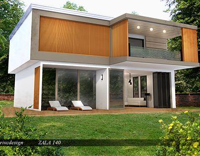 "Check out new work on my @Behance portfolio: ""K2MODUL,house ZALA 140"" http://be.net/gallery/40577959/K2MODULhouse-ZALA-140"