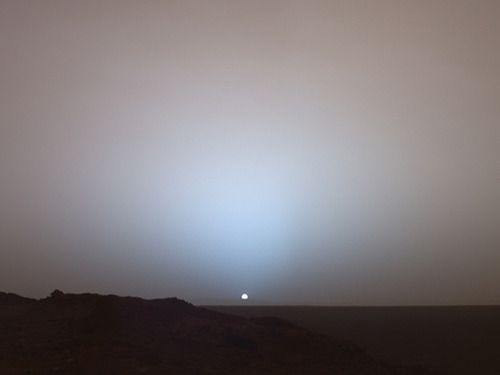 sunrise on mars from nasa. amazing!