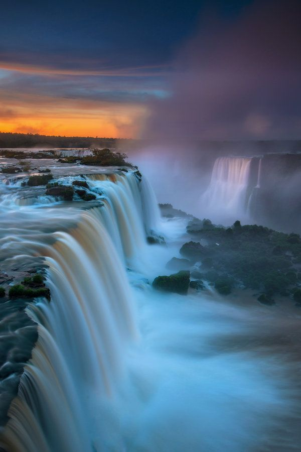 iguazu falls sunset - photo #32