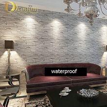 Современный стиль, 3D обои камень кирпич дизайн фоне стены ПВХ обои водонепроницаемый papel де parede tapete rolls R244(China (Mainland))