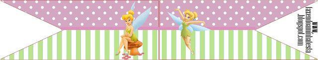 Tinker Bell - aperatifler, hediyelik eşya ve resimler için davetler için çerçeveler, etiketleri ile komple Takımı! - Bizim Partisi Yapımı