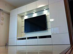 Album - 6 - Banc Tv Besta (Ikea) + panneau Framsta, réalisations clients