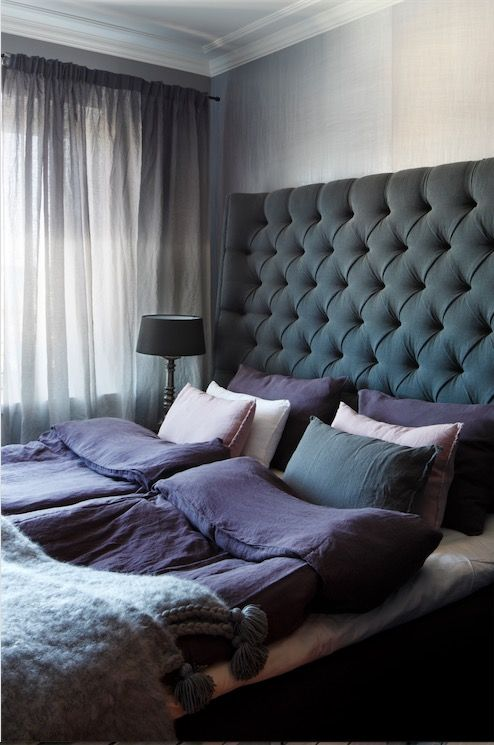 Bedroom / Penthouse apartment at Bulevardi, Helsinki | Photo: Jaanis Kerkis