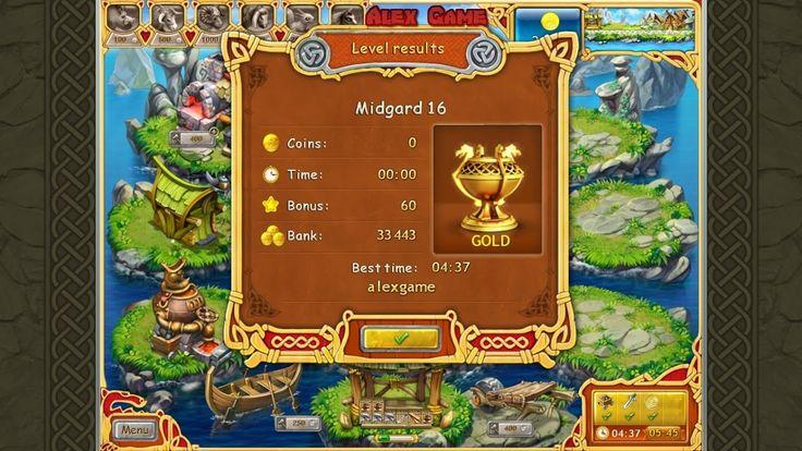Farm Frenzy Viking Heroes Adventure Midgard 16 GOLD Веселая ферма Викинги Сюжетная Мидгард 16 Золото