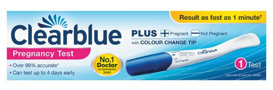 Clearblue Pregnancy Test 1 Pack Clearblue Pregnancy Test 1 Pack: Express Chemist offer fast delivery and friendly, reliable service. Buy Clearblue Pregnancy Test 1 Pack online from Express Chemist today! (Barcode EAN=4084500477520) http://www.MightGet.com/january-2017-11/clearblue-pregnancy-test-1-pack.asp