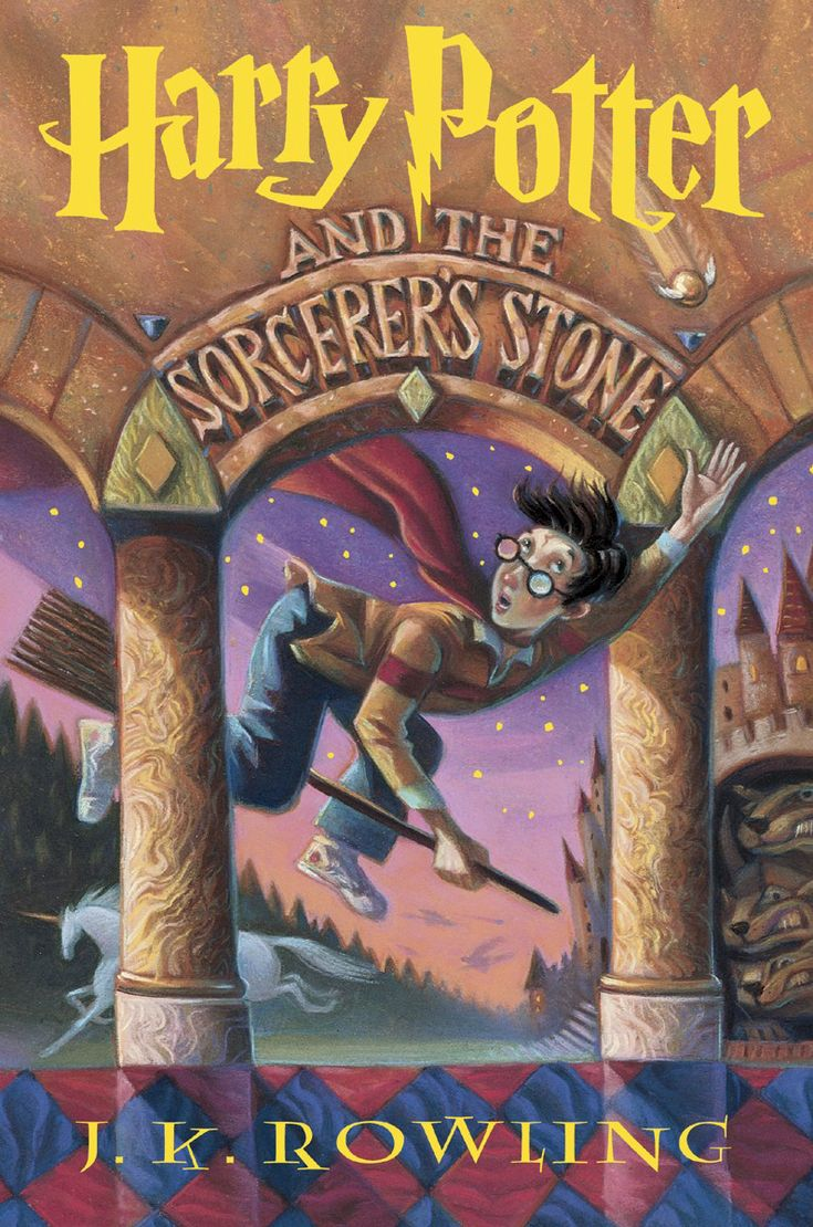Harry Potter And The Sorcerer's Stone (book) : Rowling, J : Rescued From  The Outrageous Neglect Of His Aunt And Uncle, A Young Boy With A Great  Destiny
