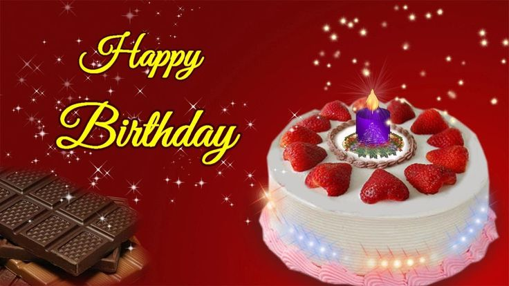 Happy Birthday Greeting, Video Greeting E-card For Dear