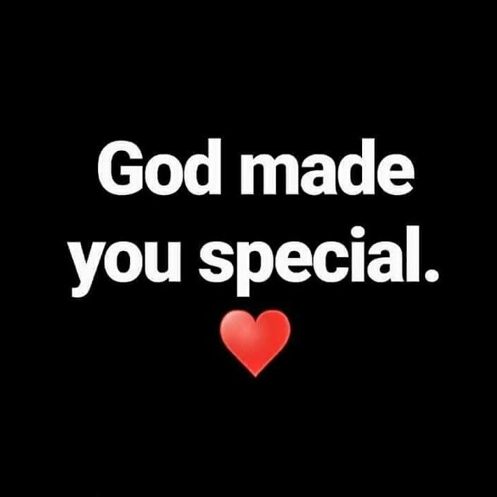 God made you special ♡  No one is like you ! ♡ You are cause God want you! You are cause God loves you ! ♡ God makes no Mistakes. ♡ All what God created - was good ! ♡ So - you are a wanted - beloved - wunderful - and - good - Creation of God. Its Truth! If you can't believe this, you can search in Bible & you will find out this. And: you can ask God! He will answer you. In the way he like.  (But please: Have patience :-) To Gods Time he give you answer. Not our time. So maybe it needs…