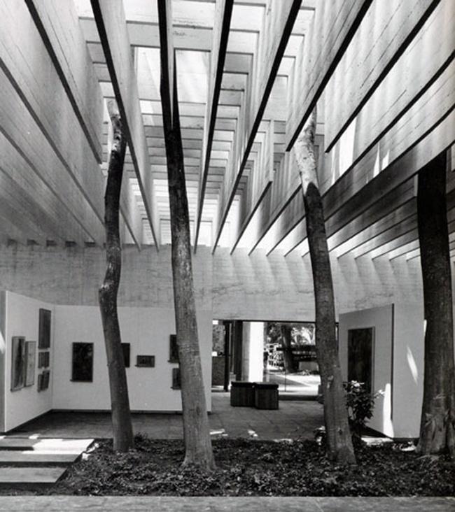 Sverre Fehn, Nordic Pavillion, 1962 Venice Biennale