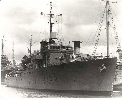 HMAS Whyalla - My Dad's ship. Photo by John White, via Flickr; The ship HMAS Whyalla (J153) was one of 60 Bathurst class corvettes constructed during World War II.