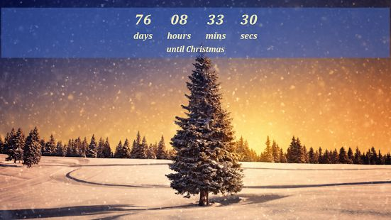 christmas countdown 2013 widget