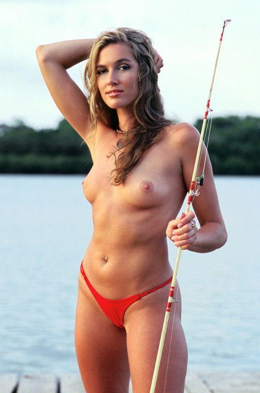 Nude women bass fishing speaking