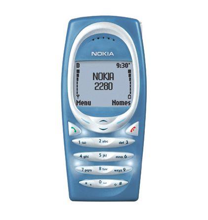 Celulares Antigos: Nokia 2280
