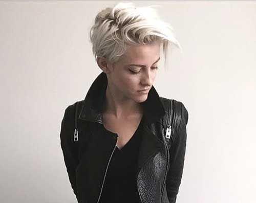 Blonde Pixie Schnitte-22