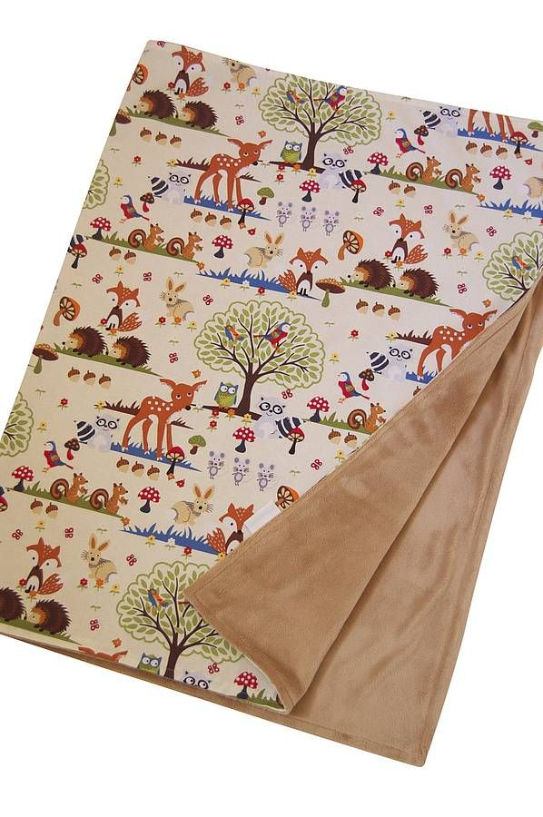 Baby Blanket 'Forest'