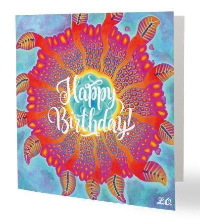 Undula Happy Birthday Card