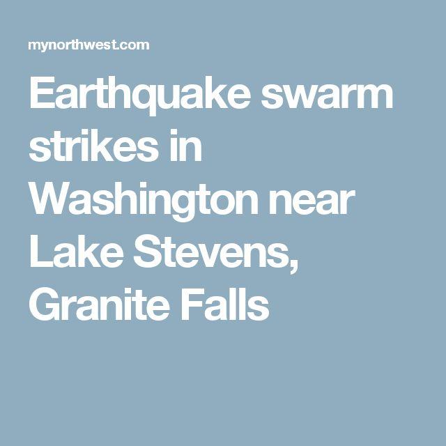Earthquake swarm strikes in Washington near Lake Stevens, Granite Falls