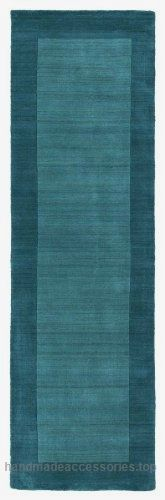 Handmade Rug, Turquoise Solid Wool Border Rug Transitional Modern Living Room Dining Room Carpet, Oblong 2×9 [2′ 6″ X 8′ 9″ Runner] Check It Out Now     $144.10    This area rug features a 100% Wool and Bordered pattern. Main color in this area rug is Turquoise. Made using a HAND ..  http://www.handmadeaccessories.top/2017/03/22/handmade-rug-turquoise-solid-wool-border-rug-transitional-modern-living-room-dining-room-carpet-oblong-2x9-2-6-x-8-9-runner/