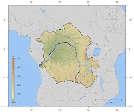 List Of Rivers Of Rio Grande Do Sul Map By Drainage Basin - Map of the rio grande river
