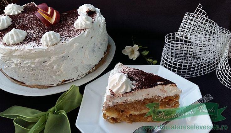 Un Tort de Mere rapid si delicios perfect pentru zilele de Post si nu numai. Tort fara ou si fara lapte.Tort rapid fara coacere.Desert rapid