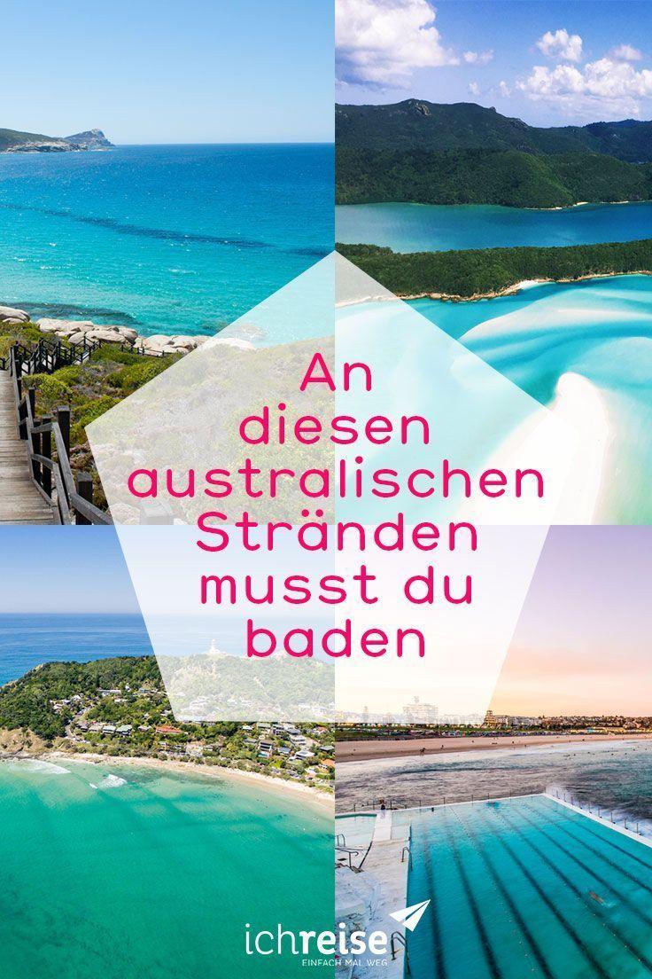 An Diesen 7 Stranden In Australien Musst Du Einfach Baden Ichreise Australien Reise Australien Urlaub Reisen