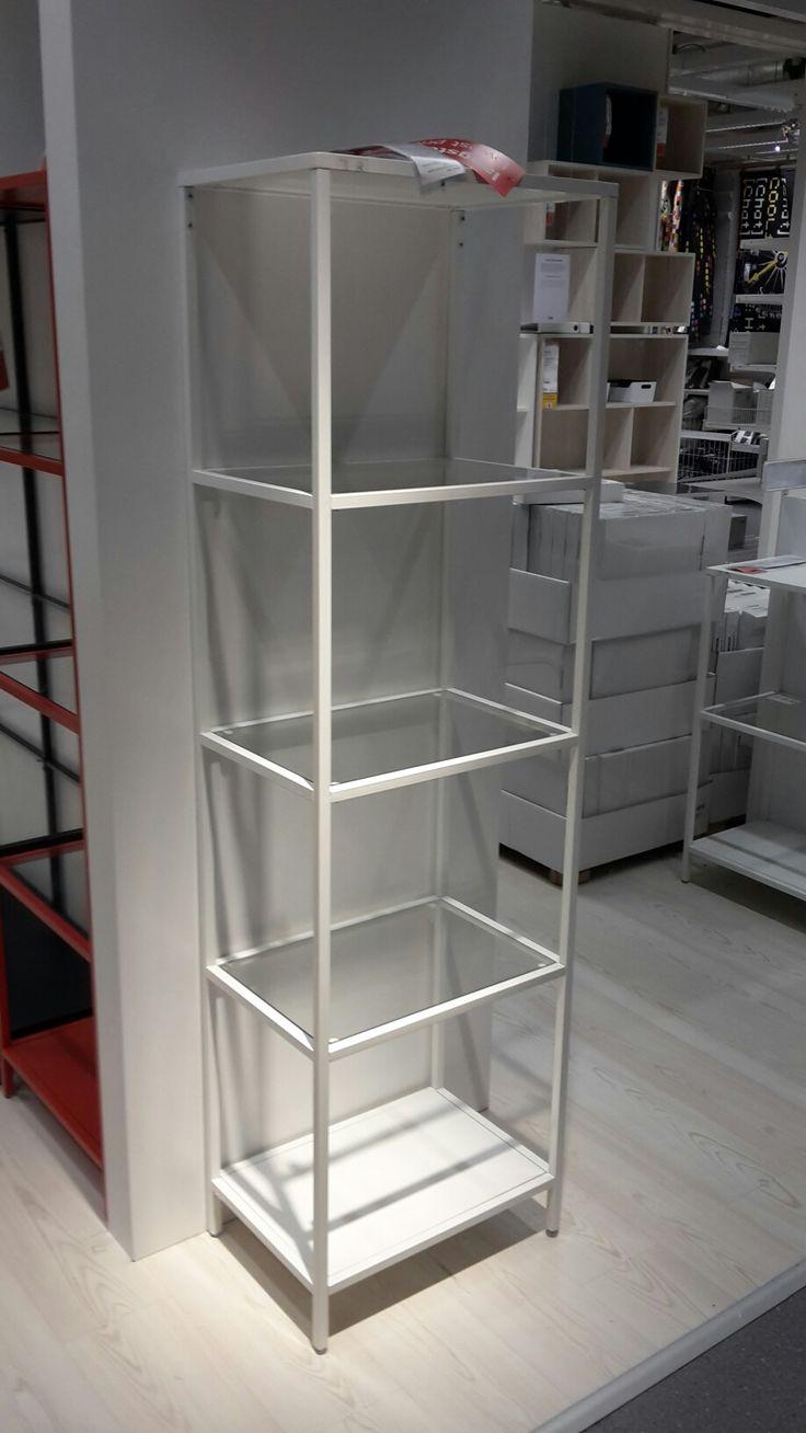 Metalen boekenkast Ikea