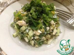 Легкий салат Почти Оливье