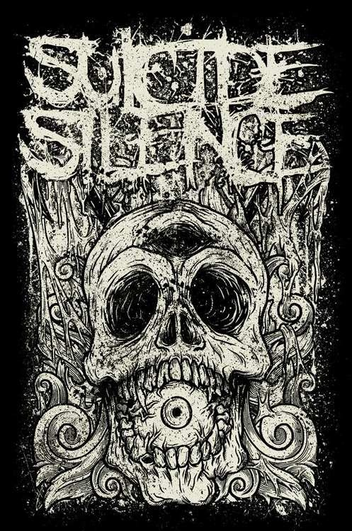 suicide silence . RIP Mitch Lucker.