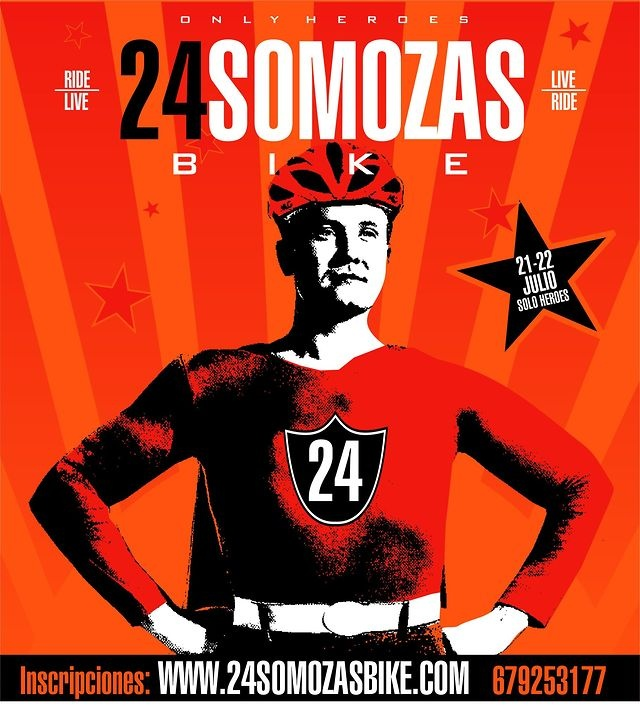 Vuelta al nuevo circuito 24SOMOZAS BIKE 2012