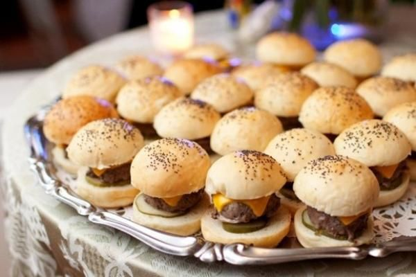 Sliders Late Night Wedding Snack For After Party