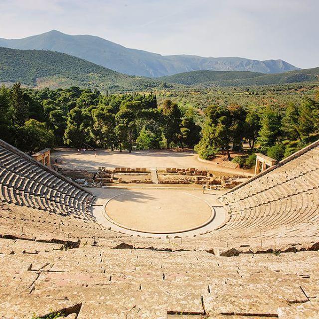 The ancient #theater #Epidaurus #KeyTours Photo credits: @ssheremet