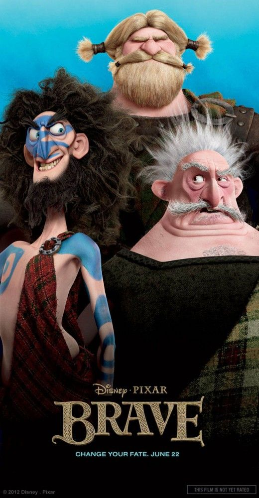 25 Beautiful Character Designs from Pixars Brave