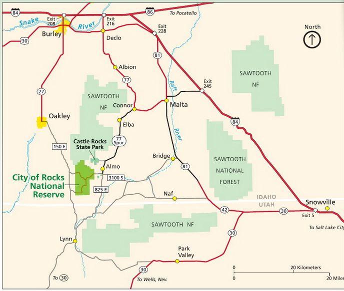 17 Best images about Idaho City of Rocks Area Vacation on Pinterest Idaho