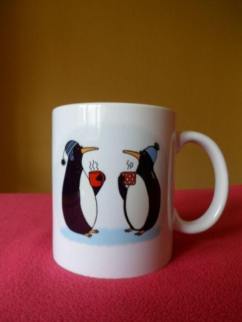Pingvines bögre, a tökéletes karácsonyi ajándék :)
