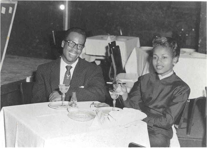 Curt and Christine, Tropicana Night Club,  Havana Cuba, 1956