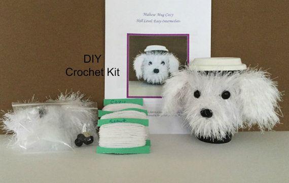 Crochet Kits - Dog Crochet Pattern - Crochet Maltese ...