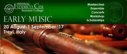 Early Music è aperto a solisti e formazioni di qualsiasi nazionalità e di qualsiasi età. Le lezioni si potranno svolgere indifferentemente su strumenti antichi o moderni.