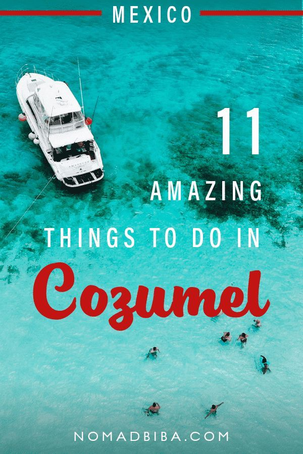 11 Amazing Things To Do In Cozumel Mexico Cozumel Mexico Cruise