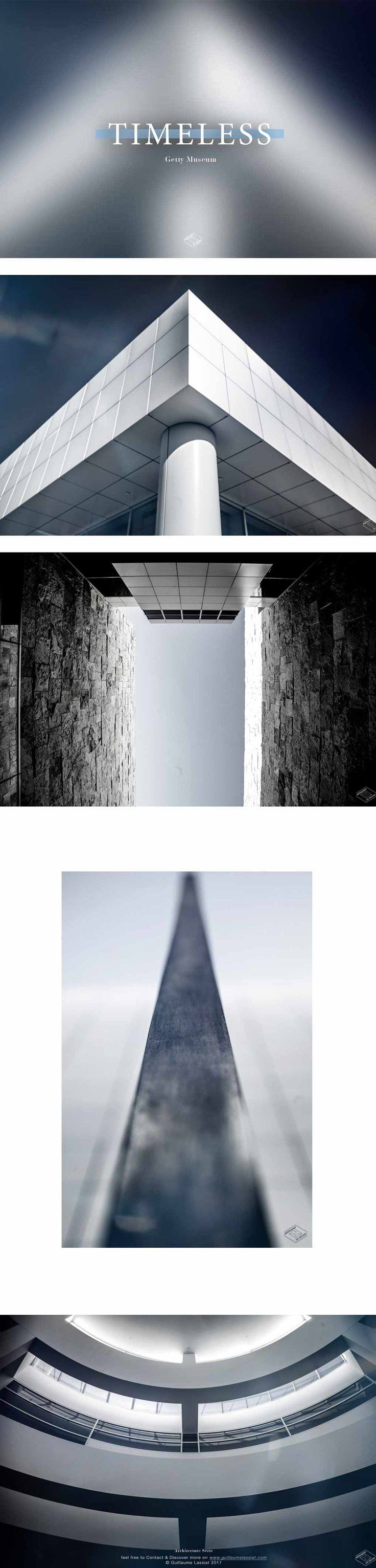 """""""Timeless"""" An Architecture serie at the Getty Museum in Los Angeles, California.  An amazing spot to discover! Feel free to contact & discover more on www.guillaumelassiat.com © Guillaume Lassiat 2017"""