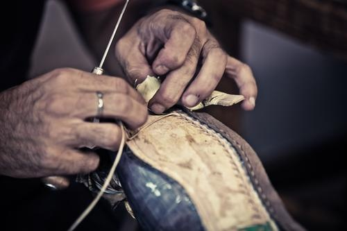 The Italian Hand Craftsmanship process for creating  KITON Shoes