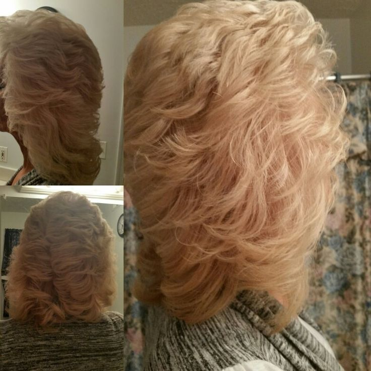 Cut so it can feather back. Blended layers to length. Hair by Nicole Windsor at Jcpenney salon in wildewood md.