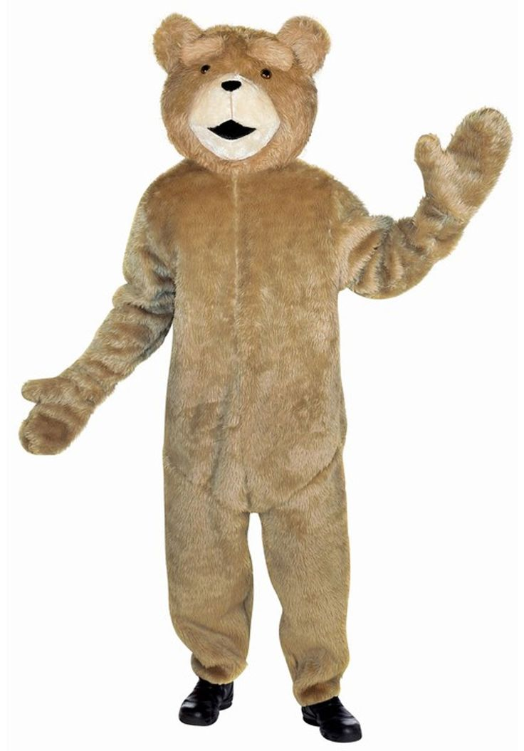 Ted Costume Deluxe, Ted Film Fancy Dress - Hollywood & TV at Escapade™ UK
