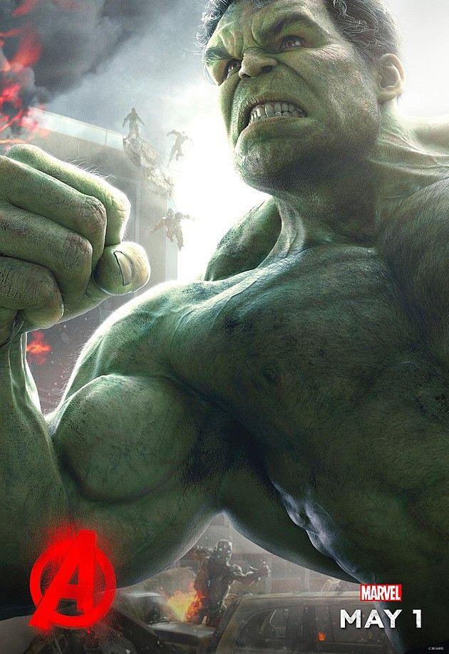 Avengers 2 L'Ere d'Ultron - Hulk - Le 22/04/15 à #Kinepolis >> http://kinepolis.fr/films/avengers-lere-dultron?utm_source=pinterest&utm_medium=social&utm_campaign=avengersleredultron#showtimes