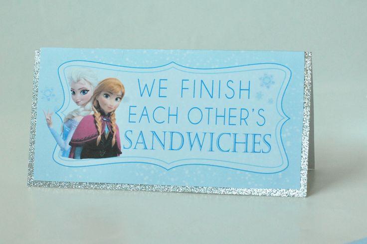 Free Frozen Party Printables Posh Tart Parties Bri S