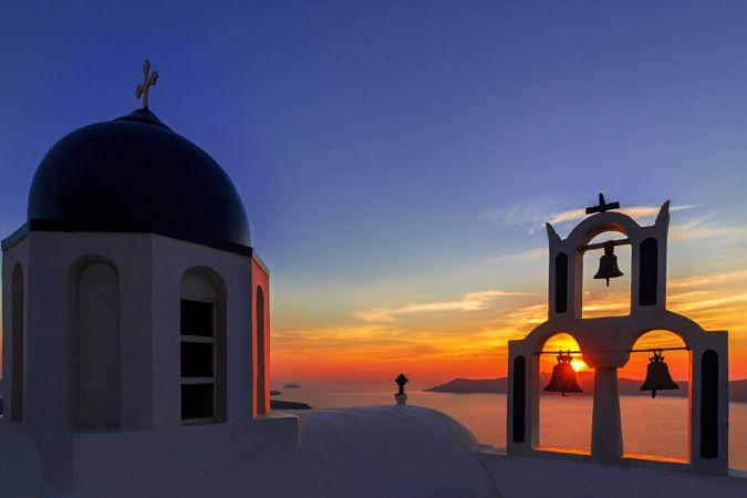 Chapel by sunset by Patrick Jendrusch